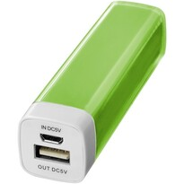 Flash powerbank, 2200 mAh, lime