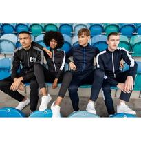 ADULT'S KNITTED TRACKSUIT TOP, piros