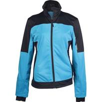 LADIES' TWO-TONE SOFTSHELL JACKET, kék