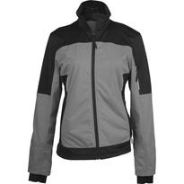 LADIES' TWO-TONE SOFTSHELL JACKET, szürke