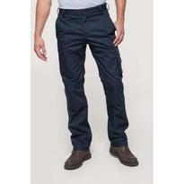 MULTI POCKET WORKWEAR TROUSERS, kék
