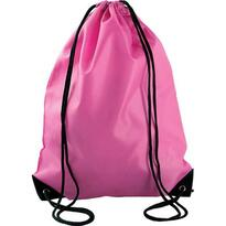 DRAWSTRING BACKPACK, pink