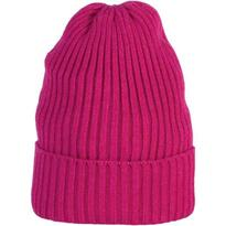 CHUNKY KNIT BEANIE, pink