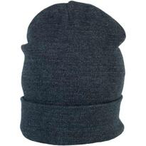 BEANIE WITH TURN-UP, kék