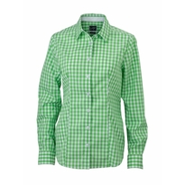 J&N Ladies' Checked Blouse, zöld S