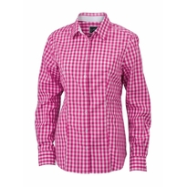 J&N Ladies' Checked Blouse, lila M