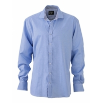 J&N Men's Shirt, kék M
