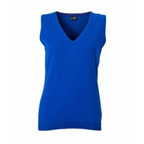 J&N Ladies' V-Neck Pullunder, kék S
