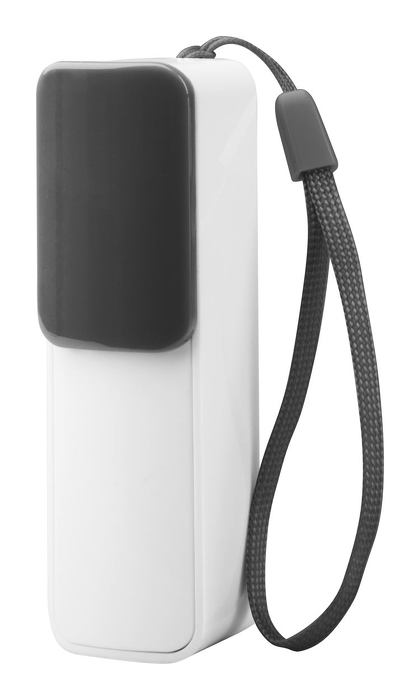 Slize USB power bank, fekete