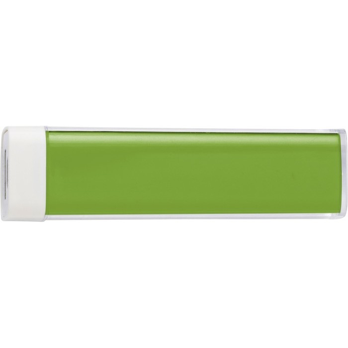 Powerbank 2200mAh, zöld