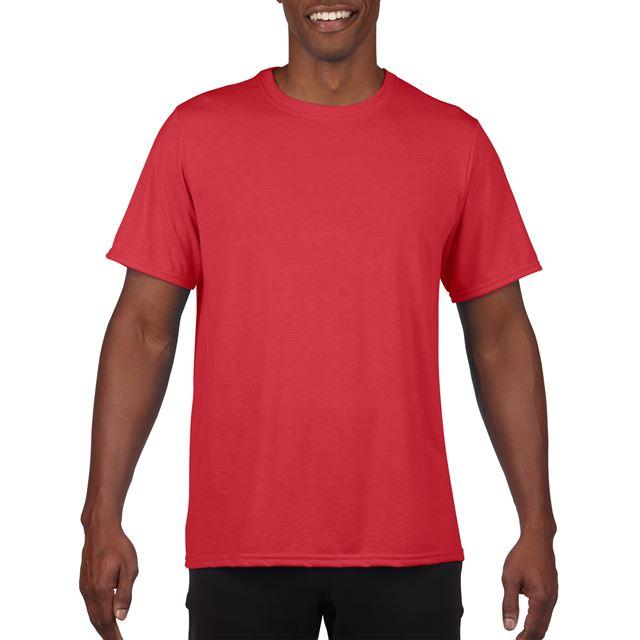 PERFORMANCE® ADULT T-SHIRT, piros