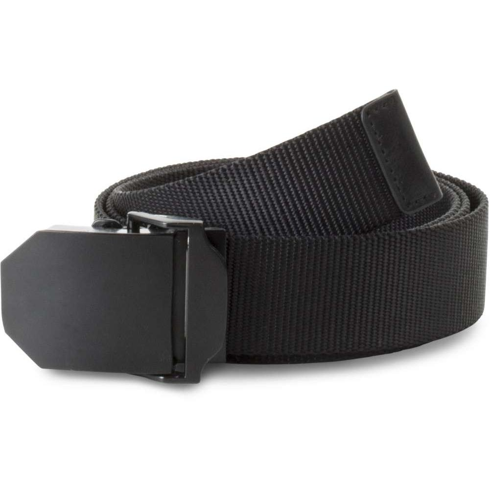 NYLON CANVAS BELT, fekete