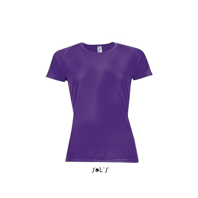SPORTY WOMEN - RAGLAN-SLEEVED T-SHIRT, lila