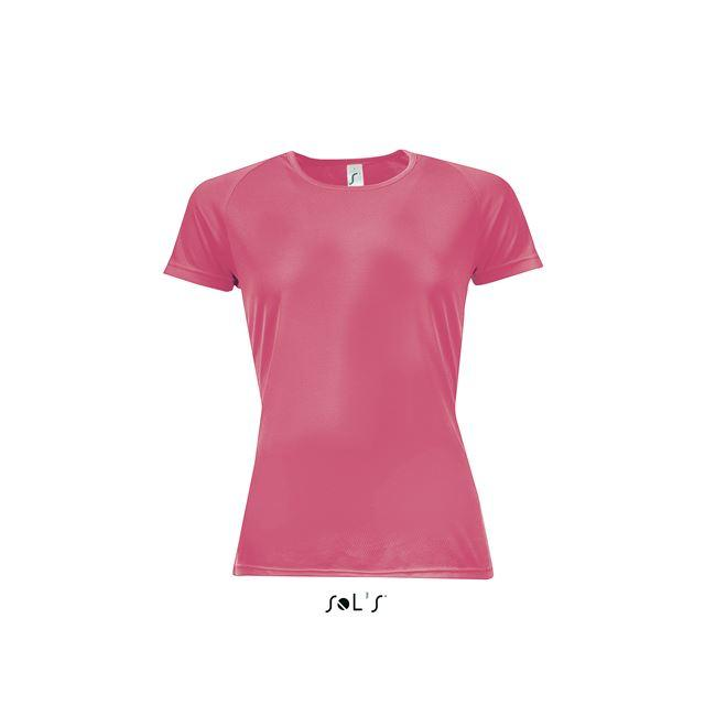 SPORTY WOMEN - RAGLAN-SLEEVED T-SHIRT, pink