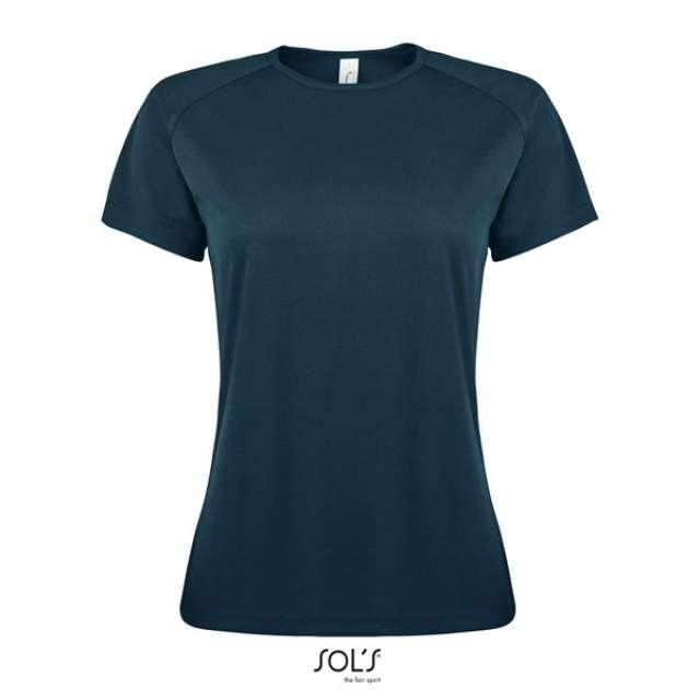 SPORTY WOMEN - RAGLAN-SLEEVED T-SHIRT, kék