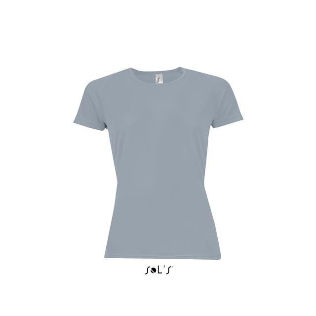 SPORTY WOMEN - RAGLAN-SLEEVED T-SHIRT, szürke