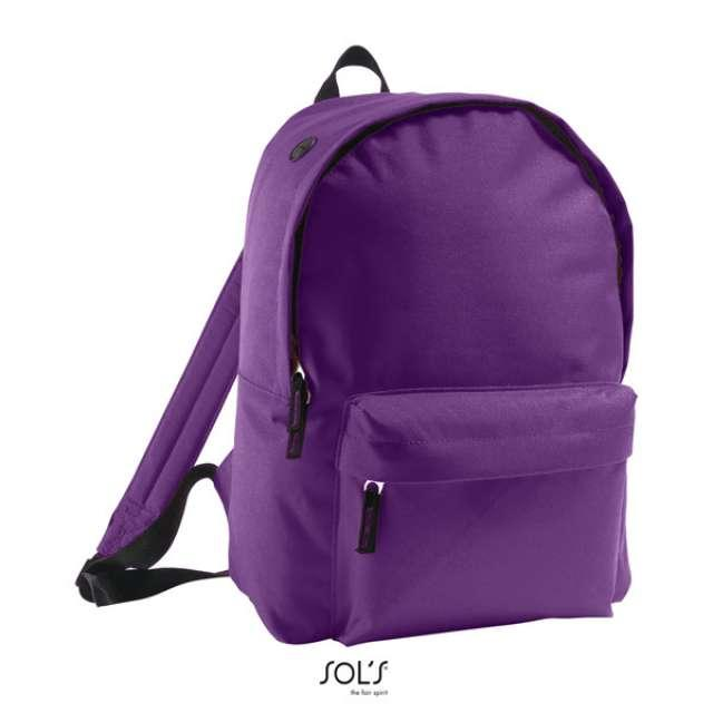 SOL'S RIDER - 600D POLYESTER RUCKSACK, lila
