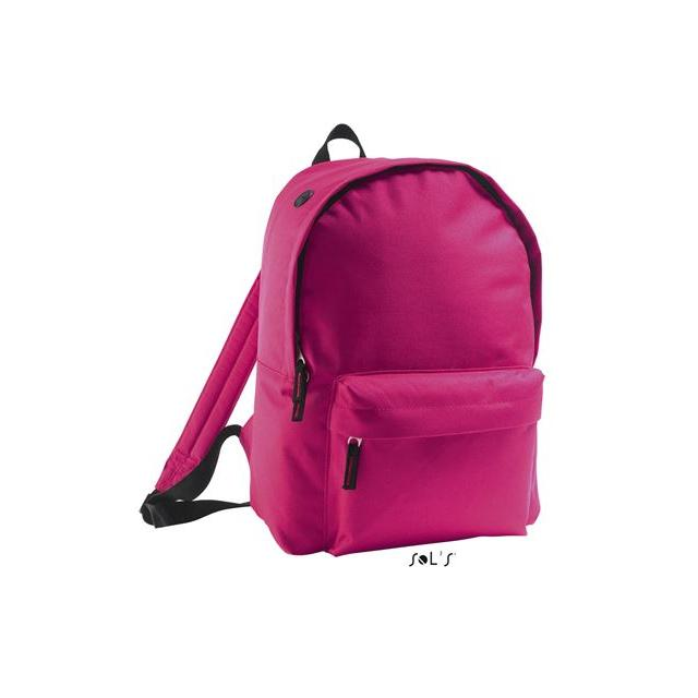 SOL'S RIDER - 600D POLYESTER RUCKSACK, pink