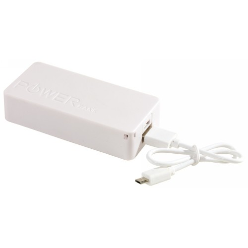 TOP ENERGY powerbank, fehér